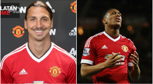 Zlatan Ibrahimovic, Zlatan, Fotboll,  Anthony Martial, Premier League