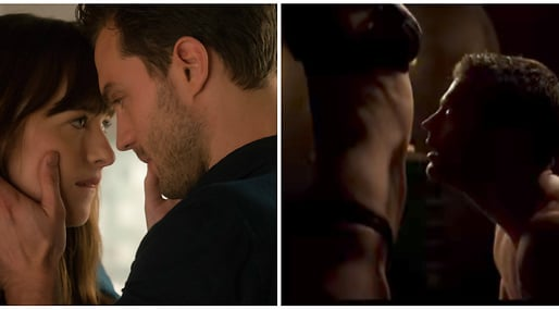 Christian Grey, Jamie Dornan, Anastasia Steele, Dakota Johnson