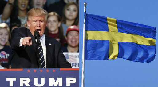 Problems, Donald Trump, Sweden