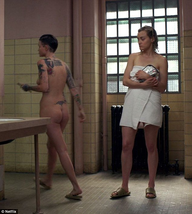 Nypd nude shower scen