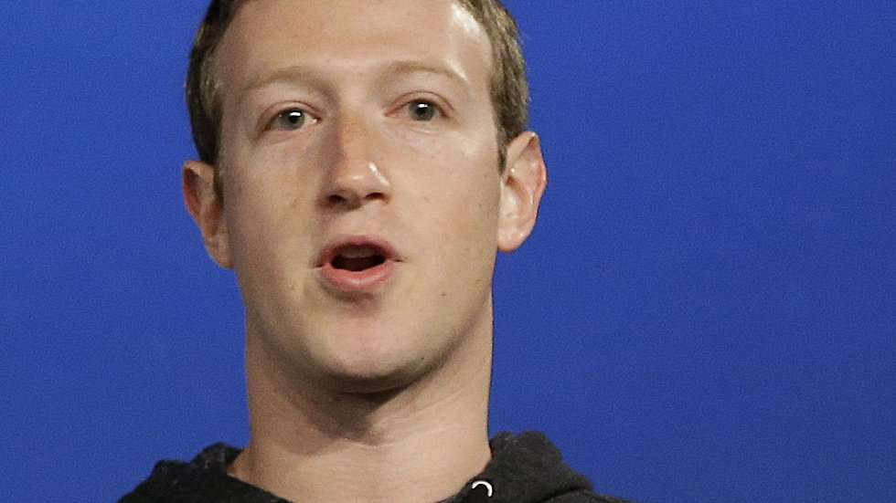 Facebooks grundare Mark Zuckerberg.