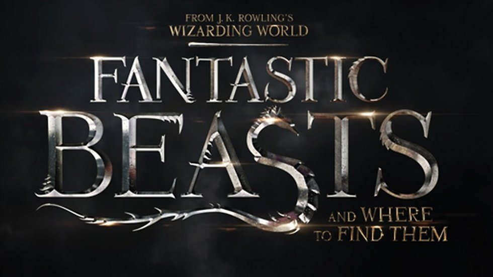 """Snart kommer J.K Rowlings """"Fantastic beasts and where to find them""""."""