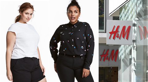 HM Hennes Mauritz, Plus Size, Kroppsideal