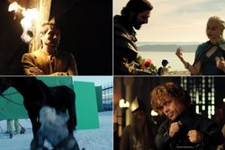 game of thrones,  season 4,  khaleesi, Bloopers