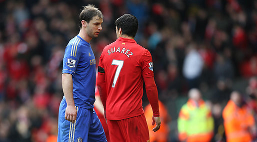 Premier League, Video, Luis Suarez, Skandalbett, Twitter, Branislav Ivanovic