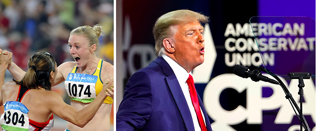 Sport, Donald Trump, Transpersoner