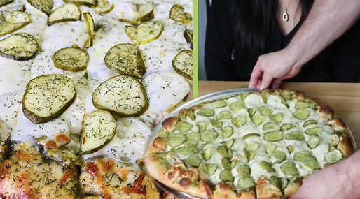 pickles, Pizza