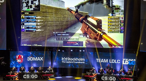 Counter-Strike, csgo, Lan, Dreamhack, Motion