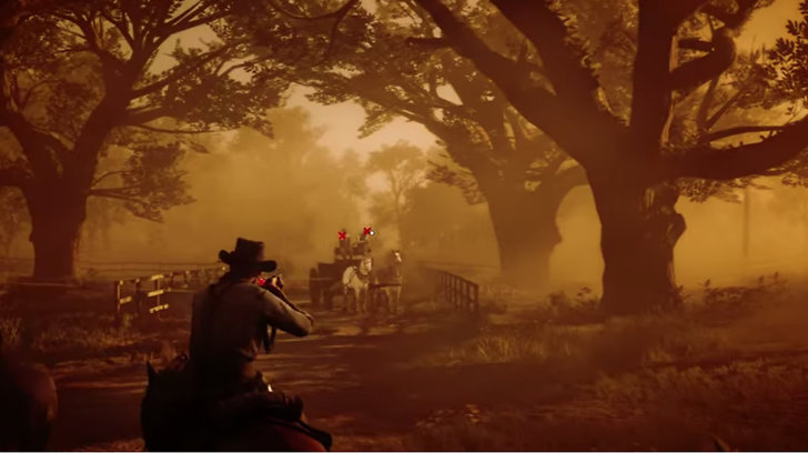 Gameplay Red Dead Redemption.