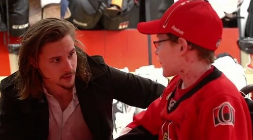Hockey, Erik Karlsson, Butterfly Children, EB, Fint