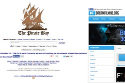 Pirate Bay, Swefilmer, Nedladdning, Dreamfilm, Streaming