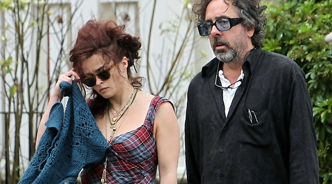 Helena Bonham Carter, Tim Burton, Hollywood, Bostad, Snarka, Film, Separera