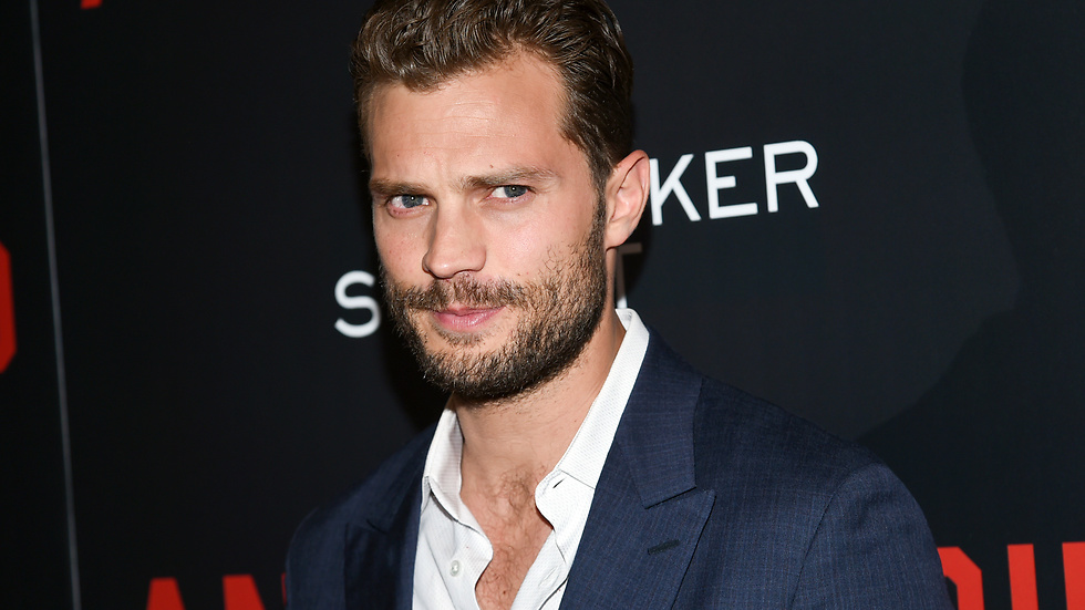 "Jamie Dornan spelar Christian Grey i ""Fifty shades of grey""."