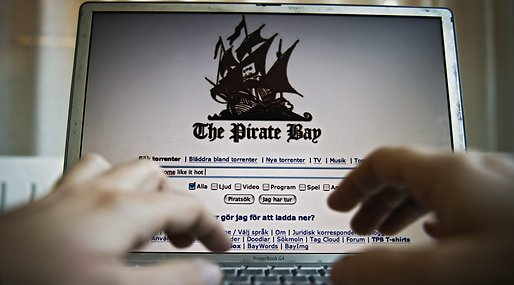 Fildelningssajt, Pirate Bay, Internet