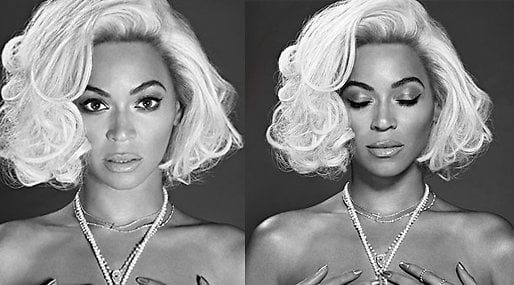 Beyoncé, Marilyn Monroe, Topless,  OUT