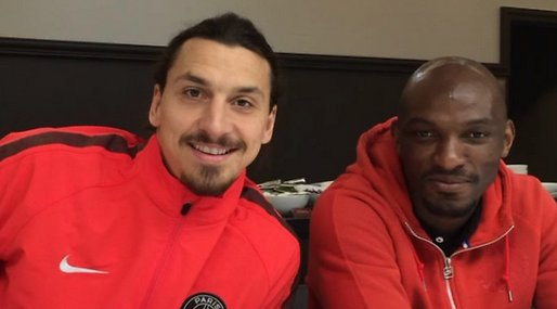 Zlatan Ibrahimovic, David Luiz, Zoumana Camara, Video, instagram