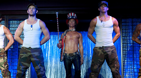 Magic Mike, Matthew McConaughey, Channing Tatum