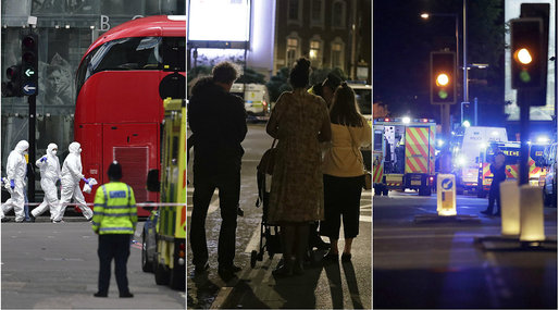 Terrorattacken på London Bridge, Terrordåd