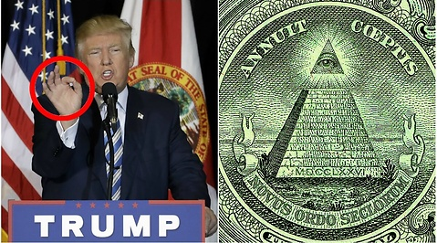 Illuminati, USA, Donald Trump