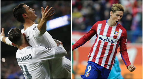 Fotboll, Champions League, Real Madrid, Atlético Madrid