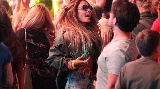 Paris Hilton, Coachella, Los Angeles,  Festval, solange knowles