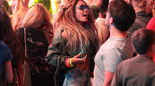 solange knowles , Paris Hilton, Coachella, Los Angeles,  Festval