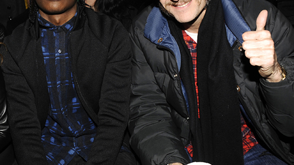 Terry Richardson med ASAP Rocky.