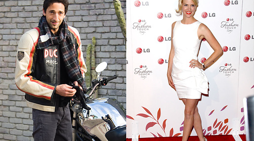 Adrien Brody, January Jones