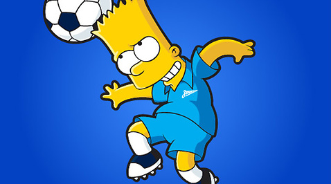 Juventus, The Simpsons, Zenit, Fotbolls-VM, Corinthians, Boca Juniors