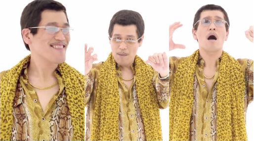 apple pen, PPAP, Piko-Taro, Pineapple pen