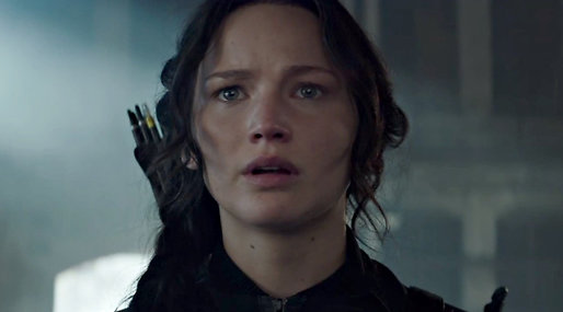 Jennifer Lawrence, Hunger Games,  Mockingjay Part 1, catching fire