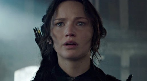 Jennifer Lawrence, catching fire, Hunger Games,  Mockingjay Part 1