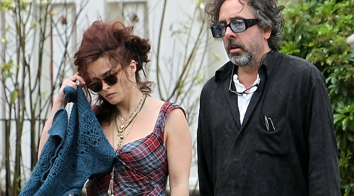 Tim Burton, Snarka, Bostad, Film, Helena Bonham Carter, Separera, Hollywood