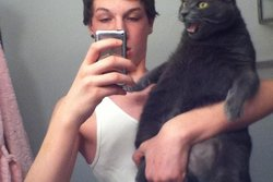 Selfie, Cute, Cat,  #djurselfie