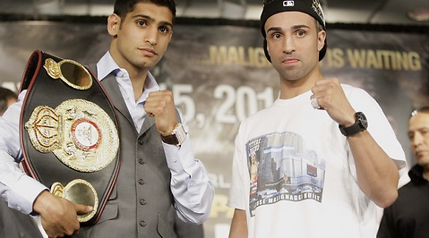 Amir Khan, Paulie Malignaggi, New York, Madison Square Garden, WBA