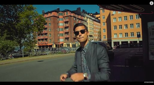 musikvideo, Eric Saade,  Girl from Sweden,  Nicole Falciani