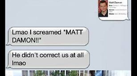Mark Wahlberg, Matt Damon, Facebook