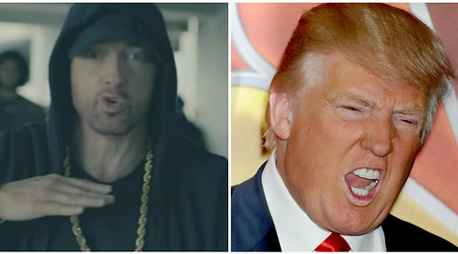 Donald Trump, Eminem