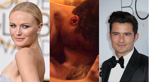 netflix, Orlando Bloom, Malin Åkerman,  Toppless, Trekant