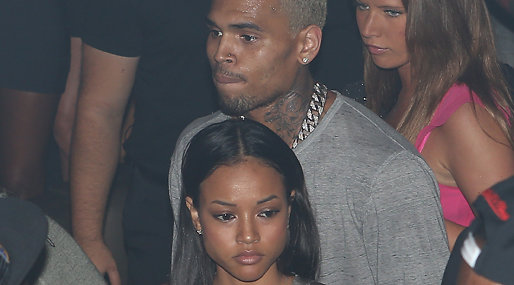 Rihanna, Chris Brown,  Karrueche Tran